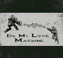 Be My Love Machine - Halo by CanisPicta
