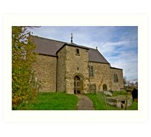 All Saints Church - Old Byland Art Print