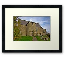 All Saints Church - Old Byland Framed Print
