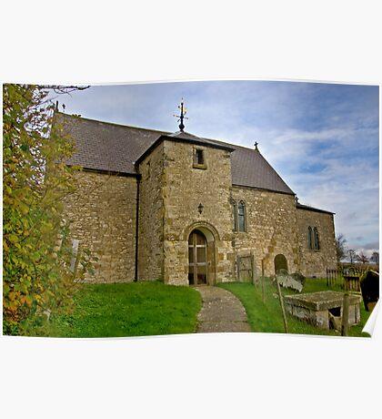 All Saints Church - Old Byland Poster