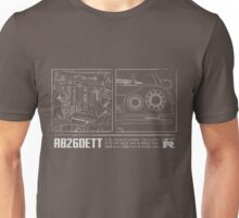 RB26DETT Engine v.02 Unisex T-Shirt
