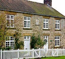 Cottages  c1892 Old Byland-North Yorkshire. by Trevor Kersley