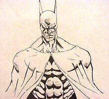the dark knight by scribbletits