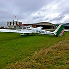 At The Gliding Club by Trevor Kersley