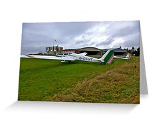 At The Gliding Club Greeting Card