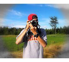 The Photographer... Photographic Print