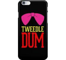 Tweedle Dee Tweedle Dum Costume iPhone Case/Skin