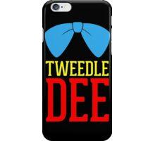 FUnny Tweedle Dee - Tweedle Dum for couples iPhone Case/Skin
