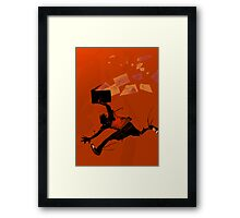 Fly ideas, fly! Framed Print