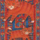 Mat Cats by JessPerry