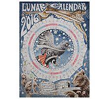 Lunar Calendar 2016 Photographic Print