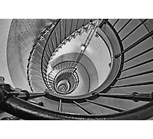 Spiral Descent Photographic Print