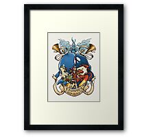 Trumpets Confirmed! Alpha Sapphire Framed Print