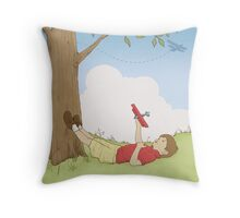 Aviator Daydream Throw Pillow