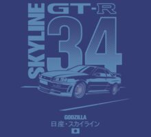 Nissan Skyline GT-R R34 by m-arts