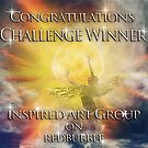 Inspired Art Challenge Banner by Anna Shaw