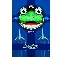Star Fox - Slippy Toad Propaganda Style Print Photographic Print