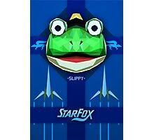 Star Fox - Slippy Toad Propaganda Style Print Photographic Print