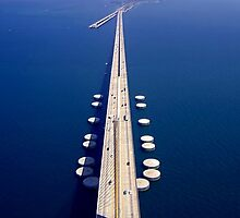 Above the Skyway by FLY911