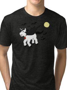 Horror Movie Unicorns: Dracula Tri-blend T-Shirt
