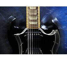 Gibson SG Standard Zoom Photographic Print