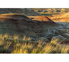 Painted Hills Sunset Photographic Print