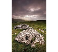 Wharfedale Rocks Photographic Print