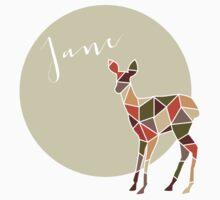 Geometric Jane Doe by whitneykayc
