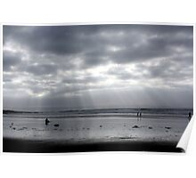 Silver Surfer - Croyde Bay Poster