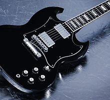 Gibson SG Standard Blue by koping