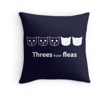 Meow Meow Beenz - Level 3 Throw Pillow