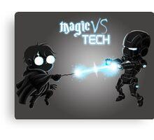 Magic Vs Tech Canvas Print