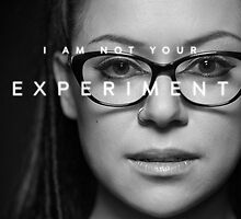cosima i am not your experiment by OrphanBlack1016
