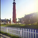 Ponce Inlet Forida Side View by Lloyd Sherman