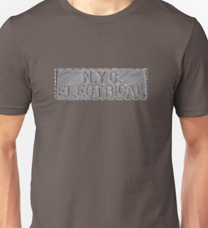 NYC Electrical Sign Unisex T-Shirt