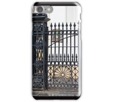 Wrought Iron Gate in New Orleans iPhone Case/Skin