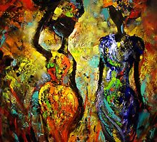 The colours of Africa by Ivana Pinaffo