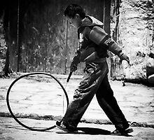 ' Circle of Hoop'  by John  van Dijen