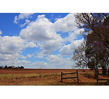 Red Soil Photographic Print