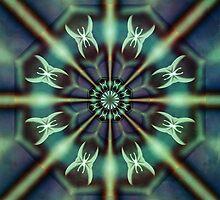 papillons de nuit - Kaleidoscope by Aimelle