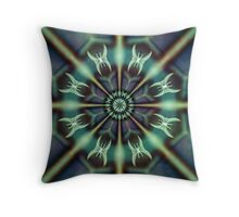 papillons de nuit - Kaleidoscope Throw Pillow