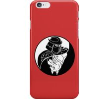 TMNT - Yin Yang - Shredder & Splinter 04 - White iPhone Case/Skin