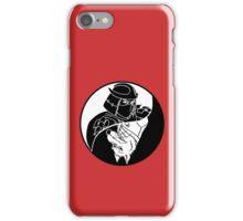TMNT - Yin Yang - Shredder & Splinter 04 - White iPhone Case/Skin