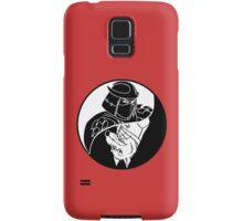TMNT - Yin Yang - Shredder & Splinter 04 - White Samsung Galaxy Case/Skin