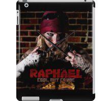 Raphael is Cool but Crude iPad Case/Skin