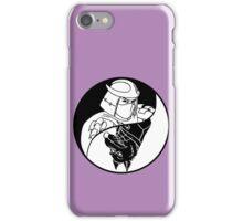 TMNT - Yin Yang - Shredder & Splinter 02 - Black iPhone Case/Skin