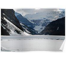Ice Rink - Lake Louise Poster