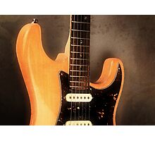 Fender Stratocaster Electric Guitar Photographic Print