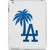 Los Angeles Dodgers Tropical Logo iPad Case/Skin