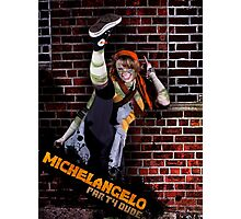 Mikey is a Party Dude Photographic Print